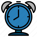 alarm, alert, clock, schedule, time, timetable, watch icon