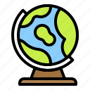 earth, globe, map, model, school