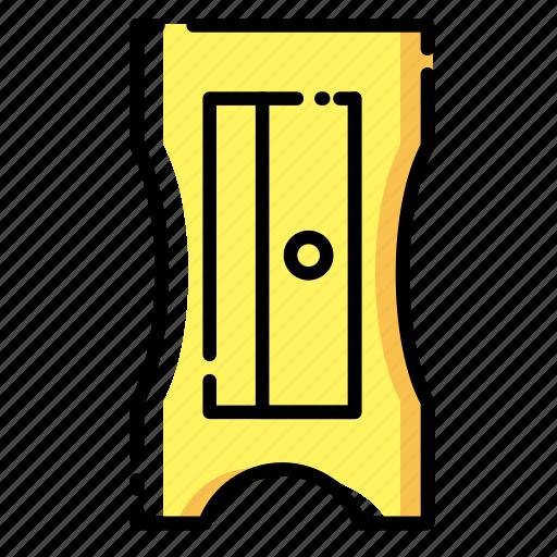 Edit, pen, pencil, shape, sharpener, tool, write icon - Download on Iconfinder