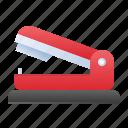 school, staple, stapler, tool icon