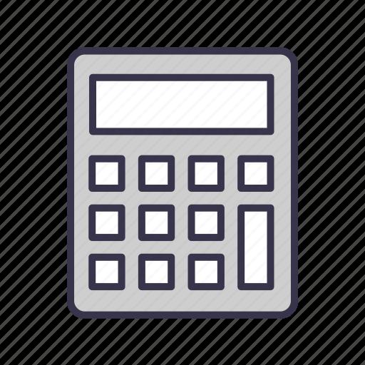 calculation, calculator, count, math, mathematics, total icon