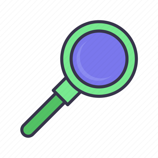 find, glass, magnifying, more visible, search, view, zoom icon