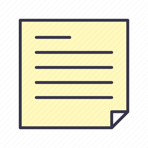 document, education, file, paper, school, sheet, write icon