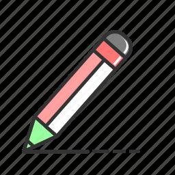 creative, draw, line, pen, pencil, testimonials, write icon