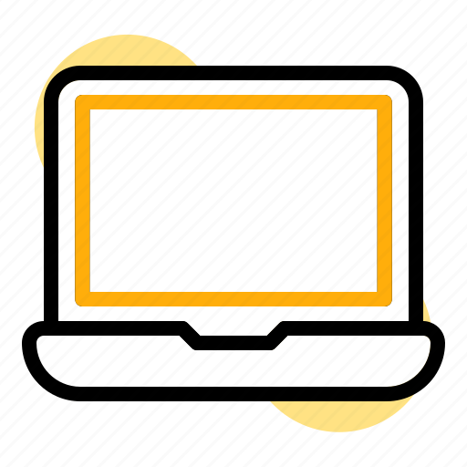 back to school, device, education, laptop, student, study, technology icon