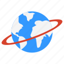 earth, geography, globe, grid, planet, world icon