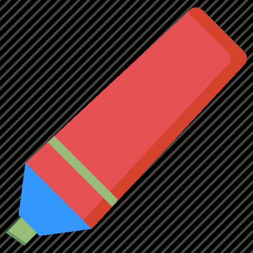 felt, highlighter, marker, pen, underline icon