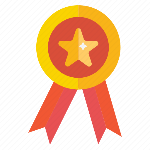 first, medal, place, position icon