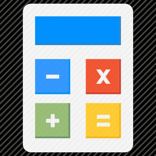 accounting, calculation, calculator, digital, maths icon