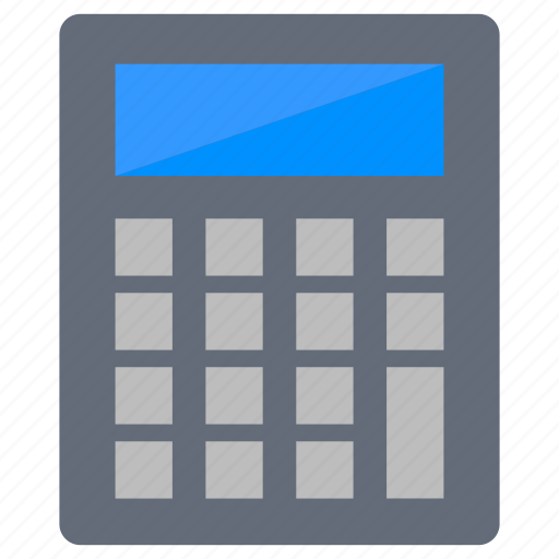 Accounting, calculation, calculator, digital, maths icon - Download on Iconfinder
