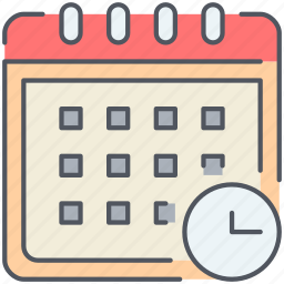 appointment, calendar, deadline, event, office, schedule, timetable icon