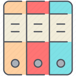 archiver, categorize, documents, format, office, papers, stack icon