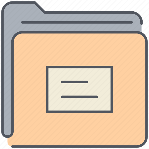archive, categorizer, documents, files, folder, office, papers icon
