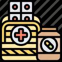 first, aid, medical, supplies, emergency