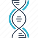 bacteria, dna, science, virus icon