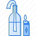 bandit, cocktail, crime, lighter, mafia, molotov icon
