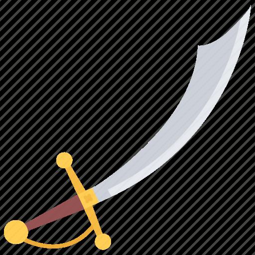 bandit, crime, pirate, saber, seafaring, sword icon