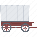 bandit, crime, wagon, west, wild icon