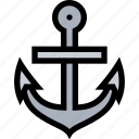 anchor, bandits, pirate, pirates, sailing icon
