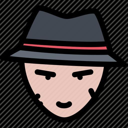 bandit, bandits, crime, mafia, mafioso icon