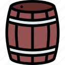 bandits, barrel, pirate, pirates, sailing icon
