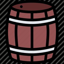 bandits, barrel, pirate, pirates, sailing icon