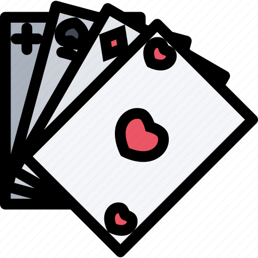 bandits, cards, crime, mafia, mafioso icon