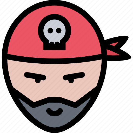 bandits, pirate, pirates, sailing, sailor icon