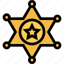 bandits, cowboy, cowboys, sheriffs badge, wild west icon