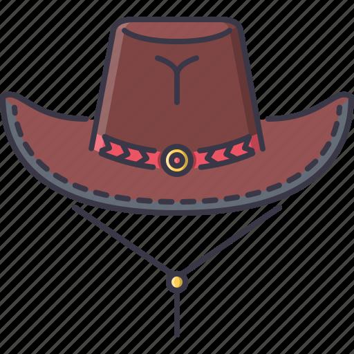 bandit, cowboy, crime, hat, west, wild icon