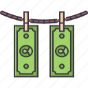 bandit, banknote, crime, laundering, mafia, money icon