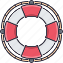 bandit, crime, lifebuoy, pirate, seafaring icon