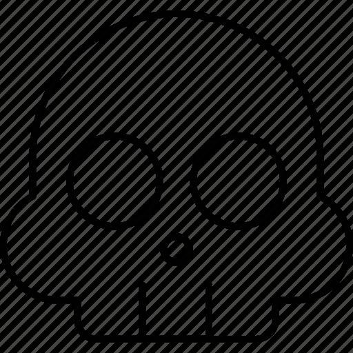 Dead, habit, habits, skull icon - Download on Iconfinder
