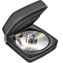 bag, disc, harddisk icon