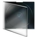 boite, cd, vide icon