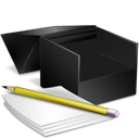 box, notes icon