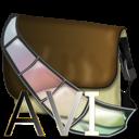 avi, bagg, fichier icon