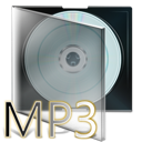 box, cd, fichier, mp3 icon