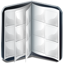 book, cd, vide icon