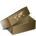 box, cardboard, delivery, garden, inventory icon