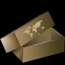 box, cardboard, delivery, garden, inventory icon