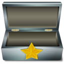 favorisbox, metal icon