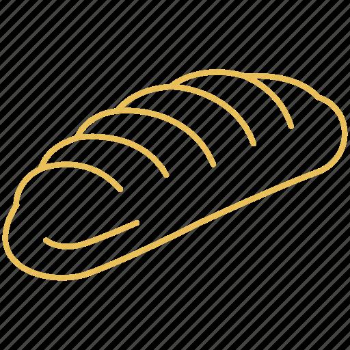 bakery, bread, pastry icon