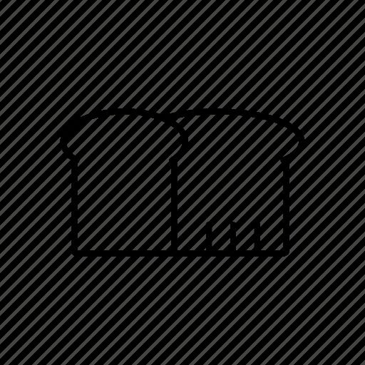 bakery, cake, line, menu icon