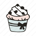 bakery, bread, brunch, cupcake, dessert, food, muffin icon