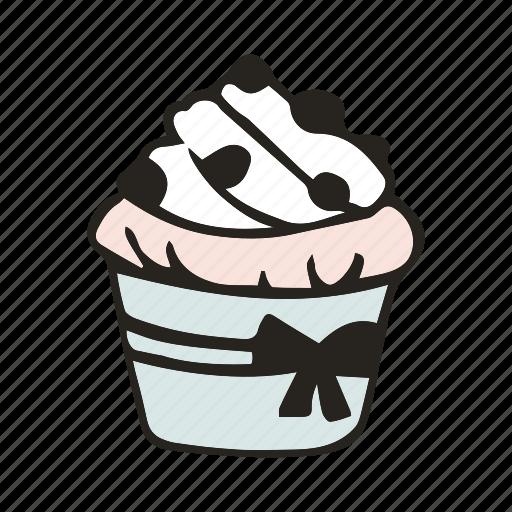 bakery, bread, brunch, cupcake, dessert, food, muffin icon