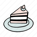 bakery, bread, breakfast, brunch, cake, dessert, food icon