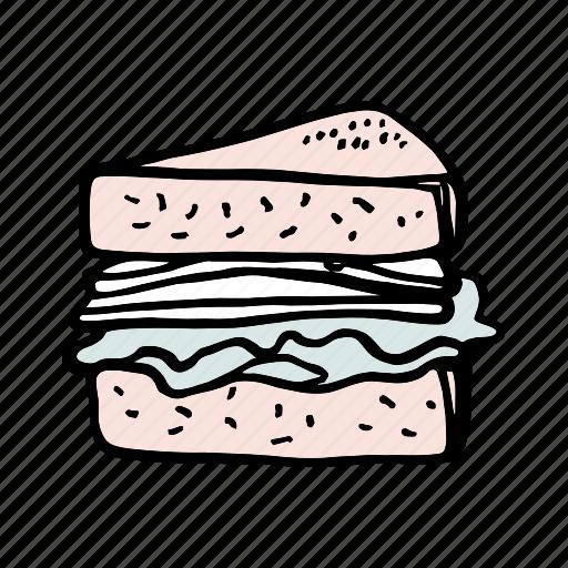 bakery, bread, breakfast, brunch, dessert, food, sandwich icon