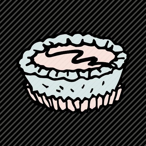 bakery, bread, breakfast, brunch, dessert, food, tart icon