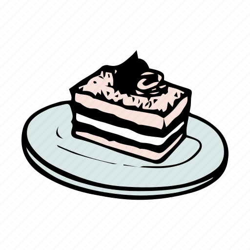 bakery, bread, breakfast, brunch, cake, dessert, food icon